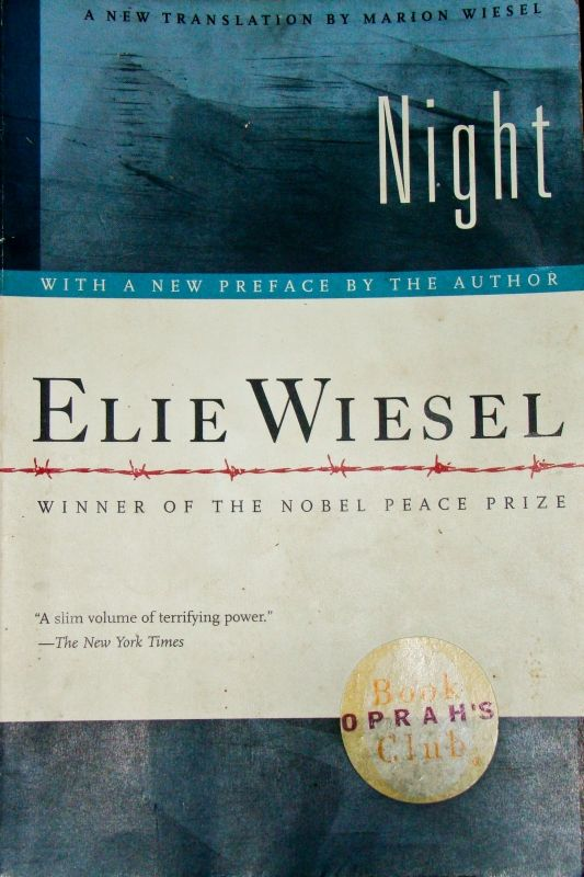the details of the holocaust in elie wiesels book night Night is a work by elie wiesel about his experience with his father in the nazi german concentration camps at auschwitz and buchenwald in 1944-1945, at the height of the holocaust toward the end of the second world war in just over 100 pages of sparse.