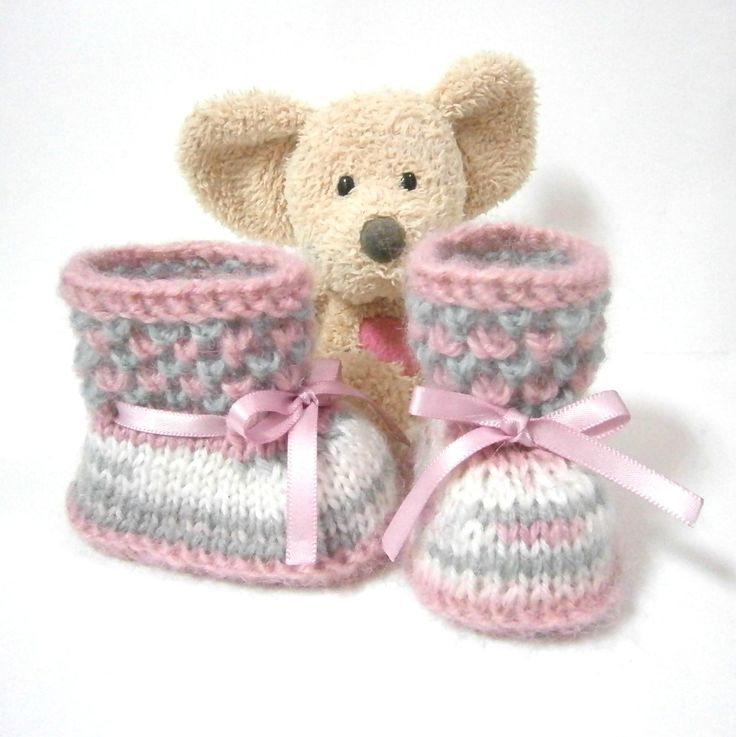 Вязание пинетки малышке