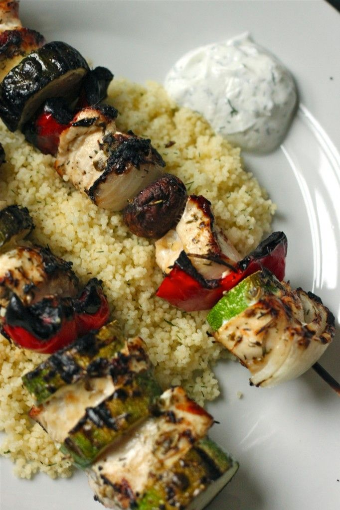 Grilled Chicken Kabobs | Things I will only DREAM of eating/drinking ...
