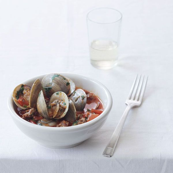 Clams and Chorizo with Smoked Paprika Butter Sauce | Recipe