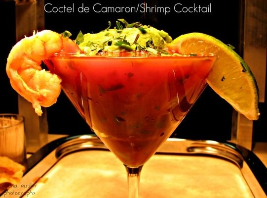 cocktail del camarones | DELICIAS | Pinterest