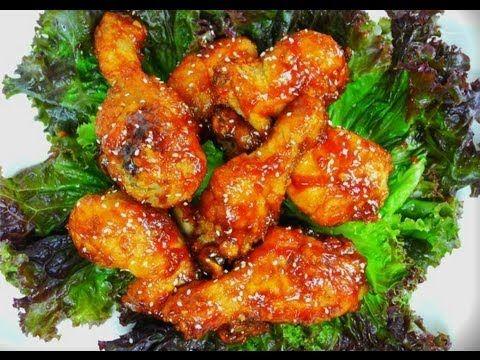 Korean Fried Chicken (Yangnyeom Chikin) Recipe — Dishmaps