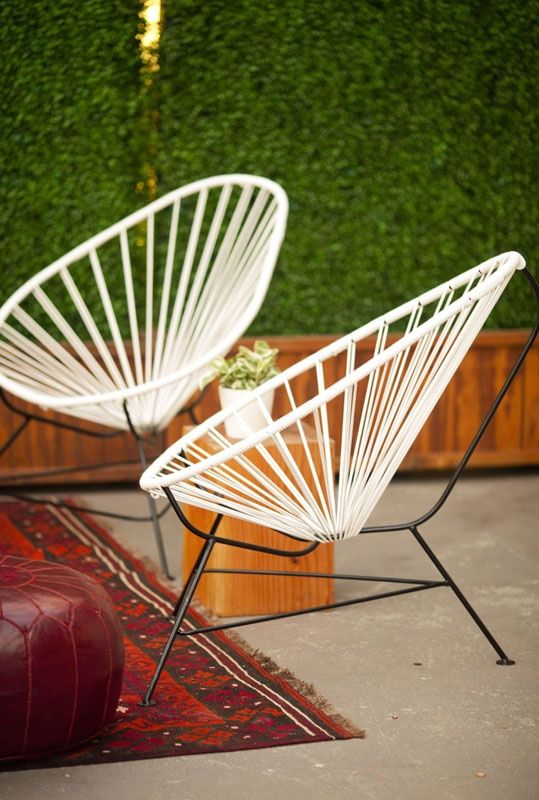 Acapulco chair great outdoors pinterest