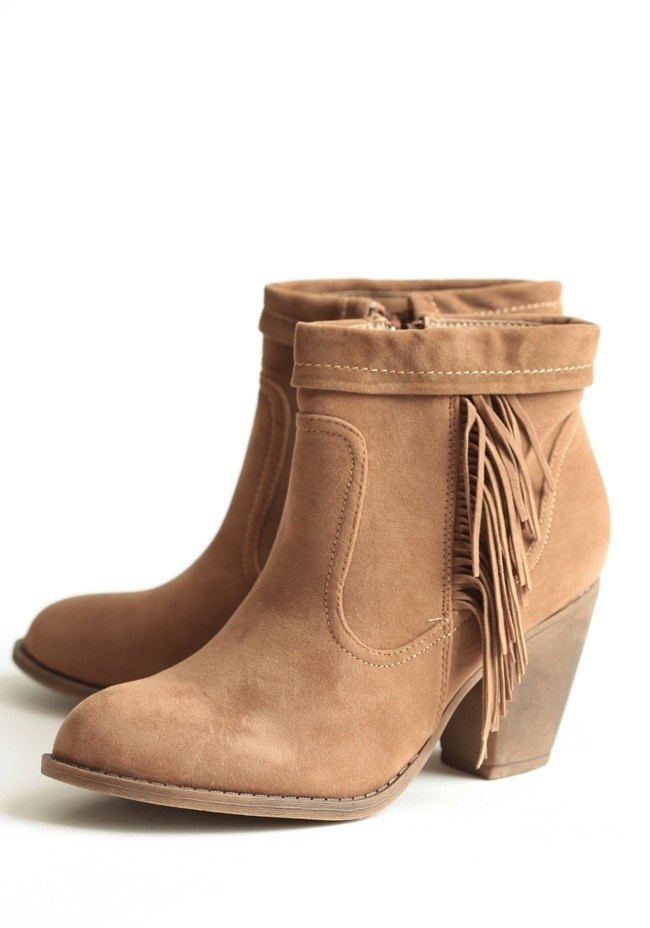 fringe ankle boots my style