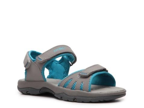 Innovative Khombu 4893 Womens Volume Tan Leather Slide Sandals Shoes 6 Medium B