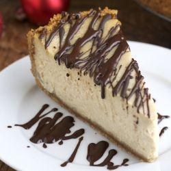 Maple Cheesecake With Maple-Cranberry Compote Recipe — Dishmaps
