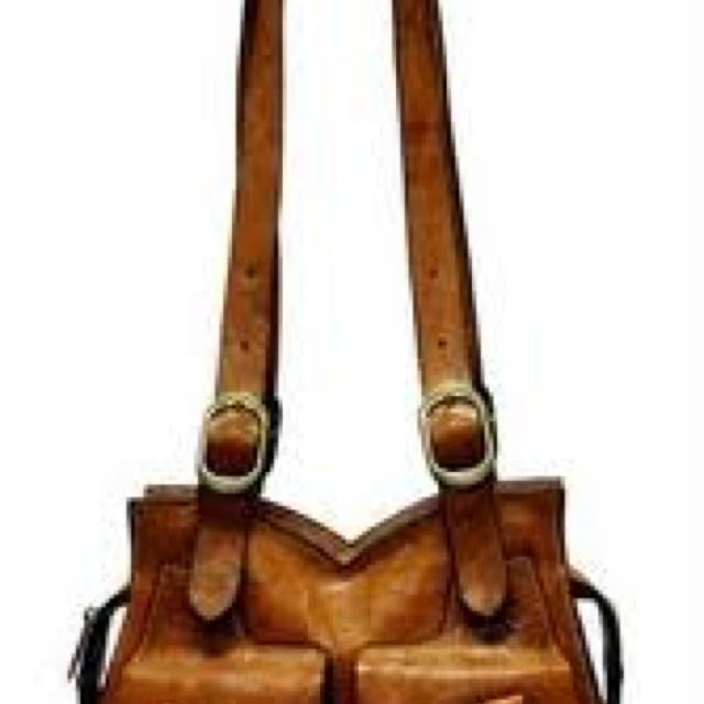 Homemade Leather Bag