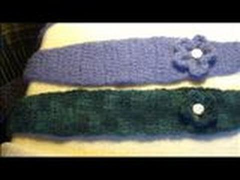 Crochet Hair Band Youtube : Crochet headband/ ear warmer Craftiness Pinterest