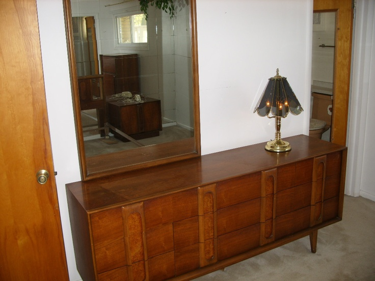 1960s VINTAGE LANE DANISH MODERN BEDROOM FURNITURE - 1960s Bedroom Furniture