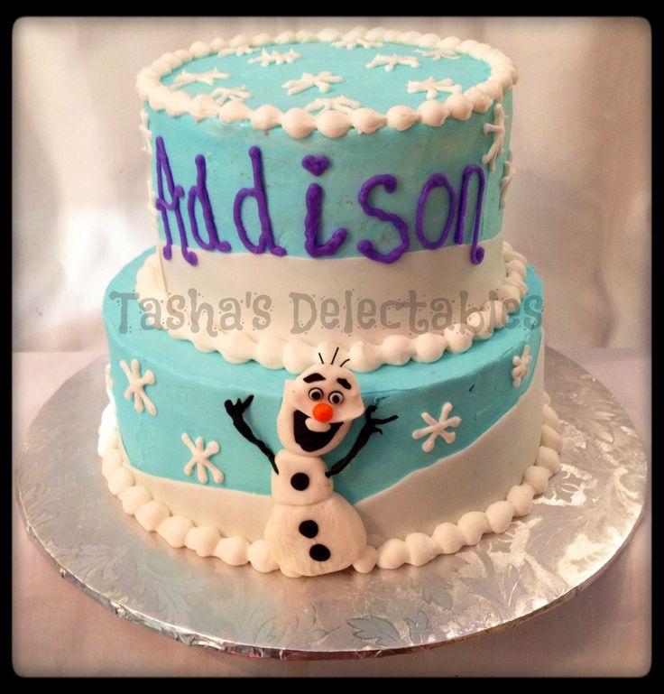Frozen Themed Birthday Cakes
