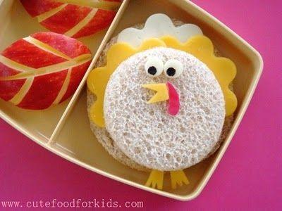 Turkey sandwich #bento
