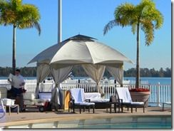 Article on poolside cabanas at the Contemporary Resort WDW