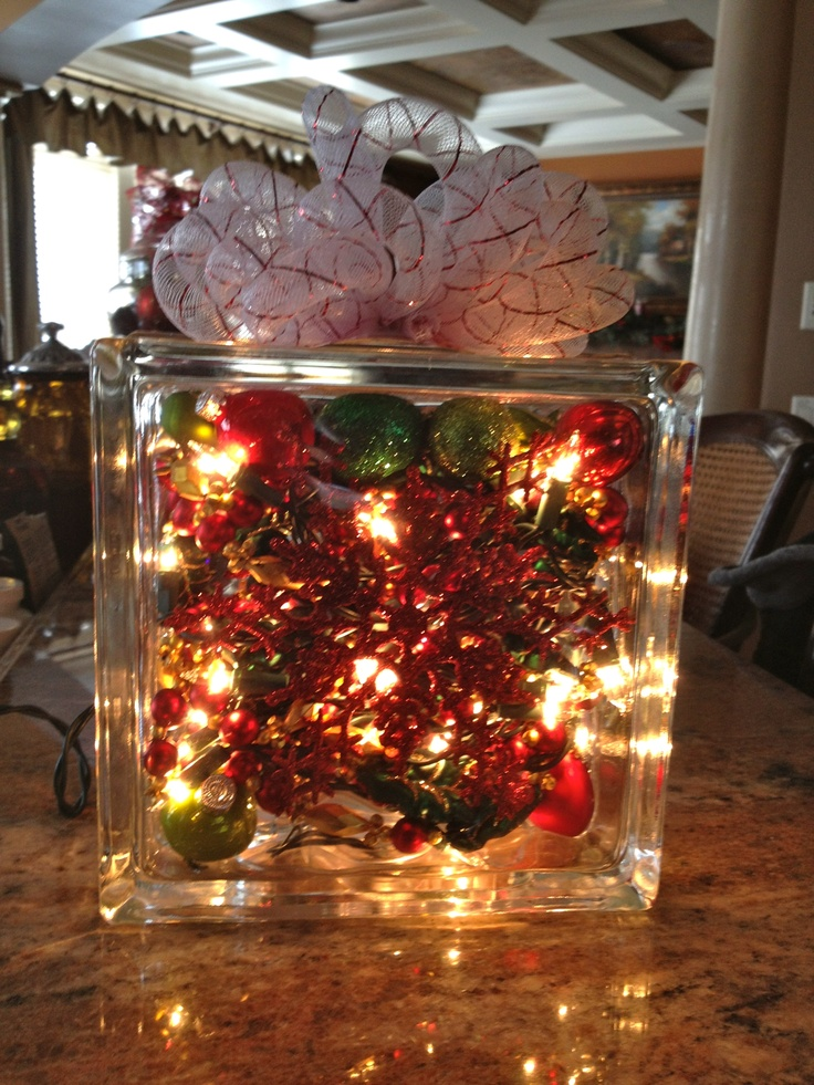 glass block decoration glass block ideas pinterest