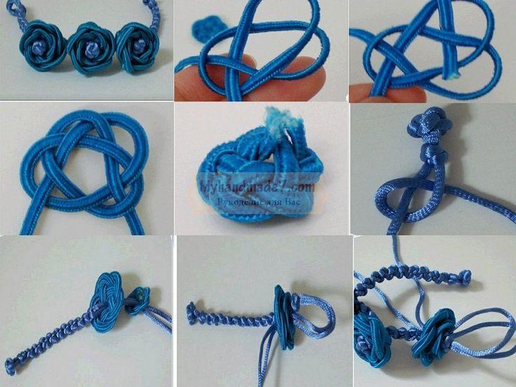Плетение браслеты своими руками из шнурков