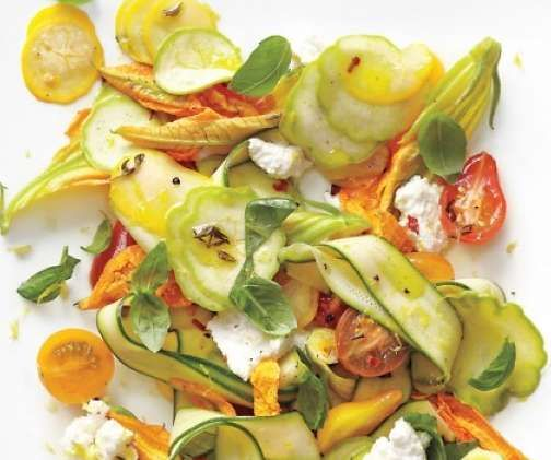 summer squash and chive pancakes indian summer squash salad recipes ...