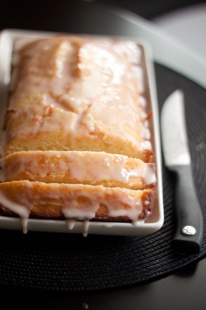 Grapefruit yogurt cake. I love yogurt or sour cream based cakes, their ...