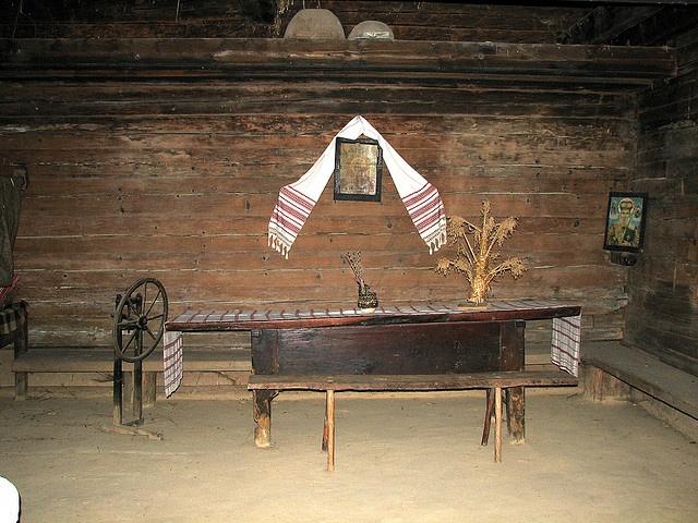 1860 ukrainian house interior made in ukraine pinterest