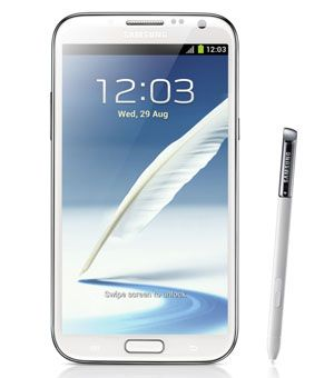 Samsung's Two Big iPhone Challengers: The Galaxy Note II and the Galaxy S III. Samsung goes into the holiday season with two powerful smartphones that can hold their own against Apple's iPhone 5. Click the pic to read about it in Black Enterprise.