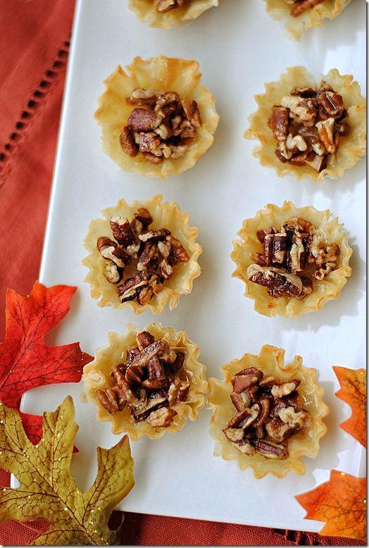 calories? Try @eaturselfskinny's Mini Maple Pecan Pies, made w/ Mini ...