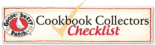 Our Cookbook Collector's Checklist lists EVERY book we've ever published! Click the image to download it for FREE from our website.