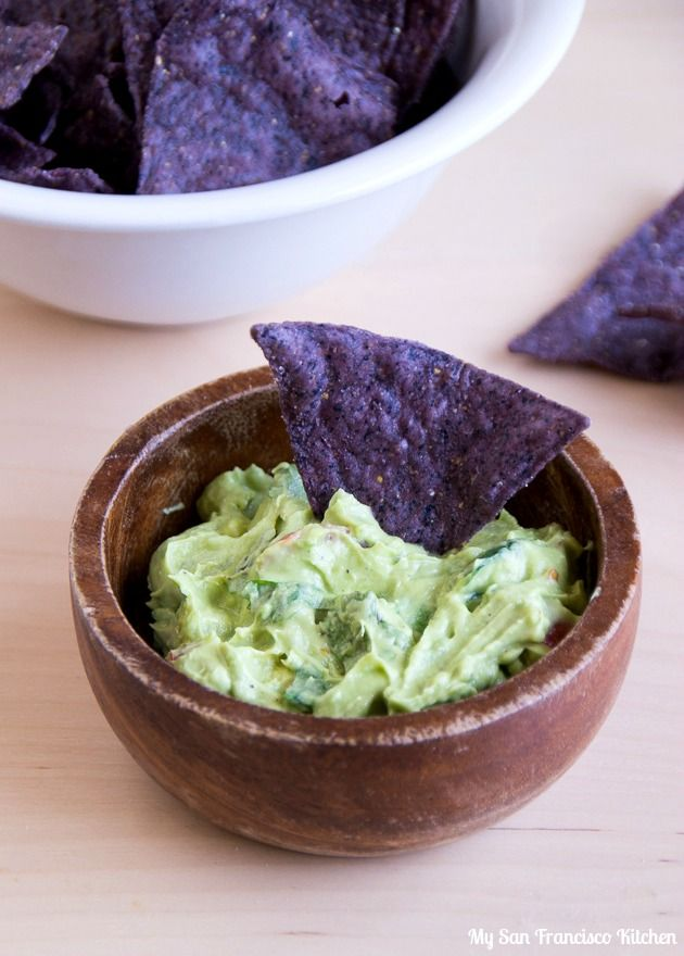 "CREAMY GUACAMOLE: ~ From: ""My San Francisco Kitchen.Com."" ~ Posted ..."