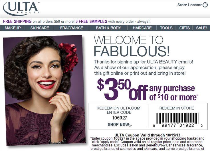 Cargo makeup coupons