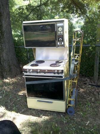 MAGIC CHEF STOVE WITH DOUBLE OVEN -   Looking back   Pinterest