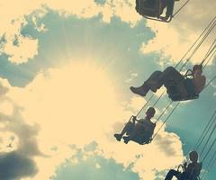 Flying swing.