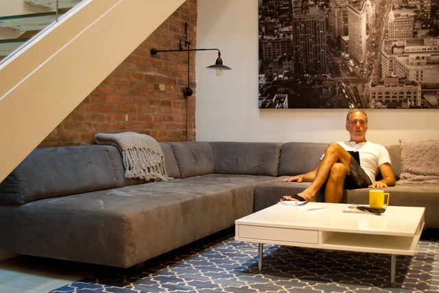 Tillary Modular Sectional from west elm via @Apartment Therapy