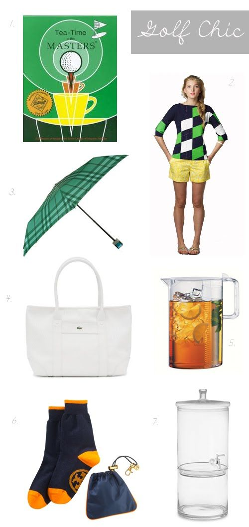 """""""Golf Chic"""" - Golf Girl essentials"""