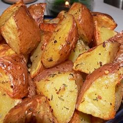 Early Morning Oven Roasted New Potatoes | Recipe