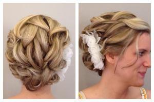 updo martin parsons bride bridesmaid flower girl