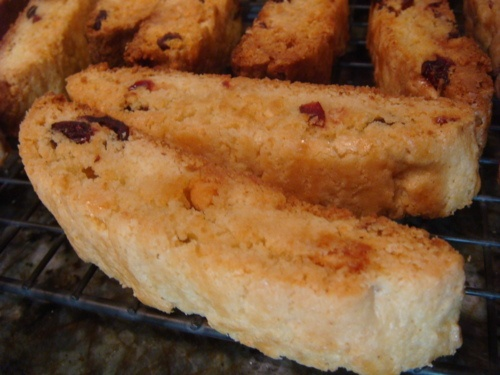 Cranberry and White Chocolate Biscotti   Recipes to Try - Cookies   P ...