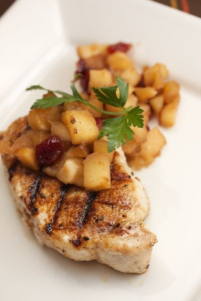 Spiced Pork Chops with Apple ChutneyBig Flavors from a Tiny Kitchen ...