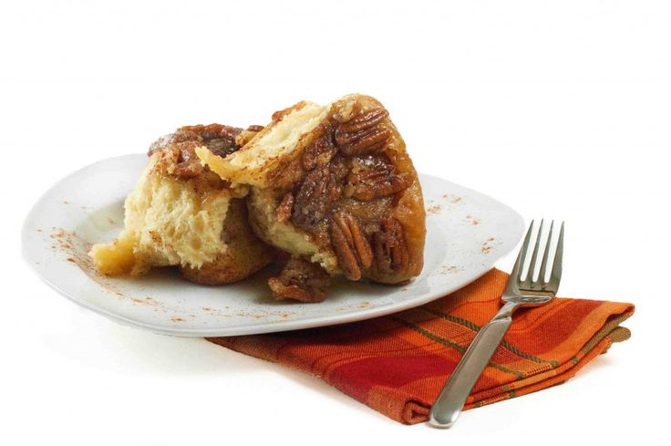 Pecan Caramel rolls - made from no Knead Brioche dough (from Artisan ...