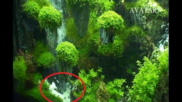Sand waterfall sand fountain - DIYfishkeepers