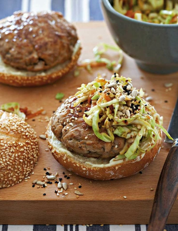Tuna burgers | Food, Glorious Food! | Pinterest