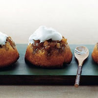Apple Upside-Down Cornmeal Cakes | Favorite Recipes | Pinterest