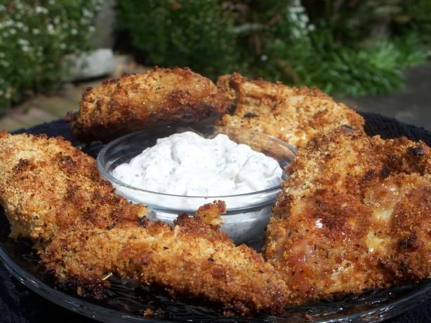 Crispy Breaded and Baked Chicken Wings from Food.com: I like my wings ...
