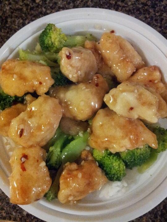 Chinese honey chicken | Norishment | Pinterest