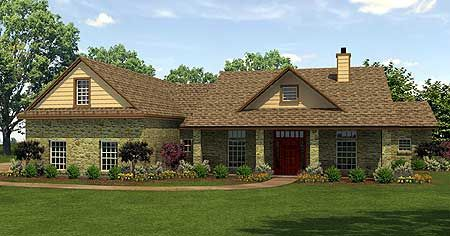 Country Home With Open Floor Plan
