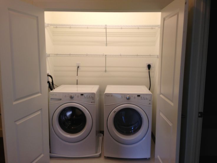full size front loader washer dryer machines in every