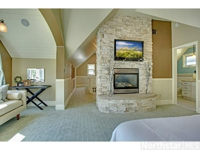 master bedroom fireplace tv master bath cary pinterest