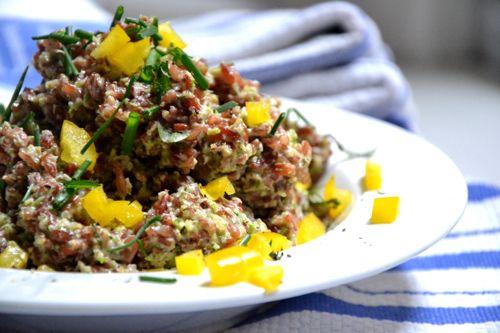 Creamy Spinach Pesto with Red Rice | Plant Power Recipe Box | Pintere ...