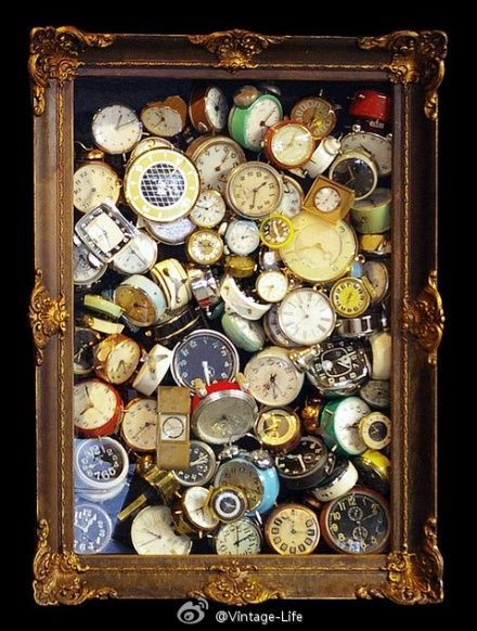 Vintage watch faces