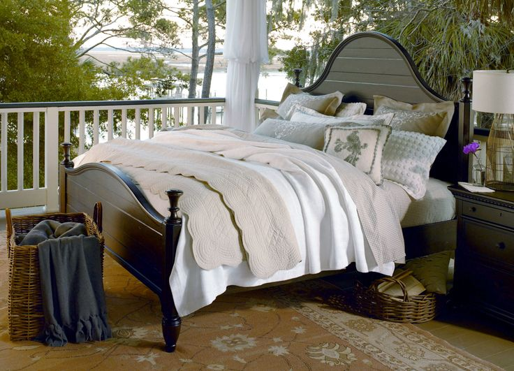 Paula deen down home bedroom set in molasses for Furnitureland south
