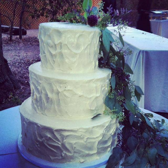 Boho Wedding Lemon Cake