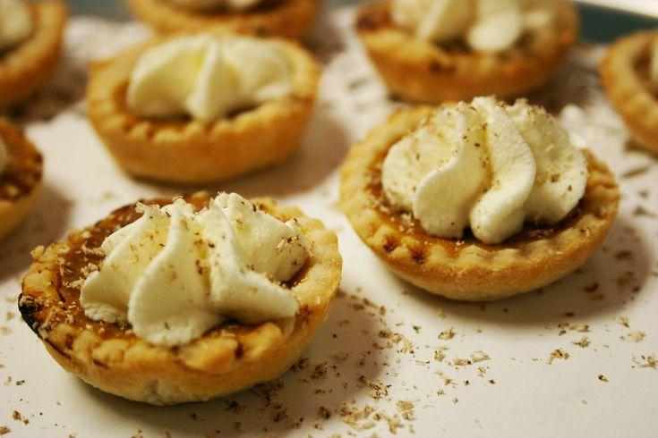 mini pumpkin pies | Food | Pinterest