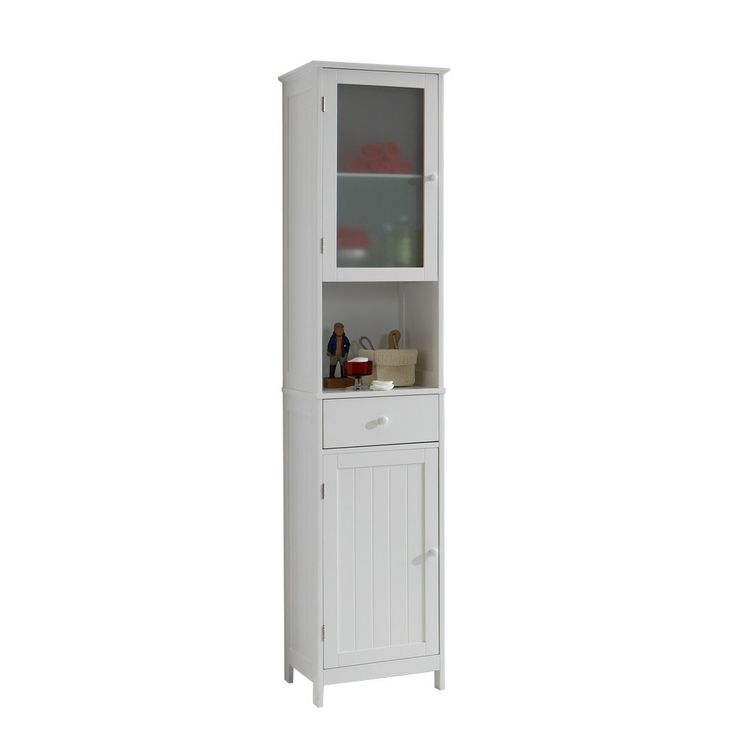 FMD Möbel, Mobile Alto, Bianco (Weiß): Amazon.it: Casa e cucina