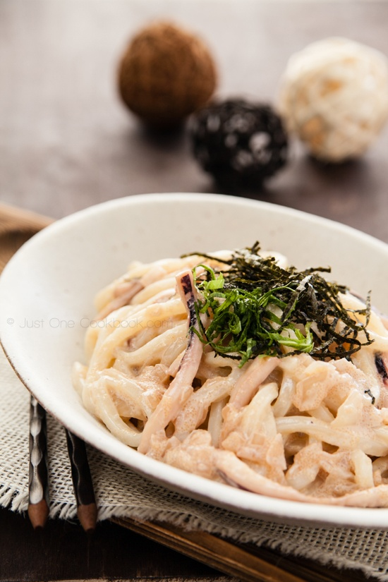 Japanese food - Mentaiko Pasta (Spicy Cod Roe Pasta). I love this ...